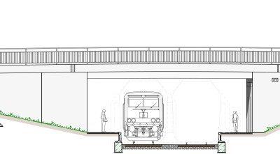 Neue Brücke Beethovenstraße – Baubeginn in der 2. Jahreshälfte