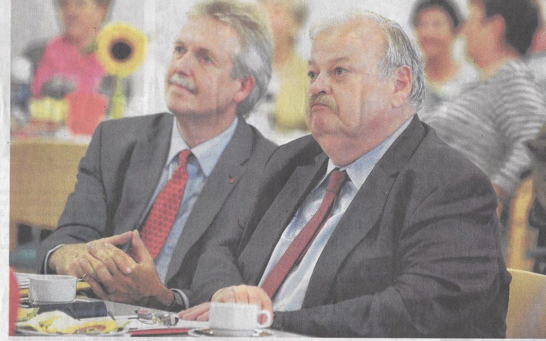 Der SPD-Ortsverein trauert um einen großen Sozialdemokraten, authentischen Gewerkschafter und aufrichtigen Kollegen – RIP Guntram  Schneider