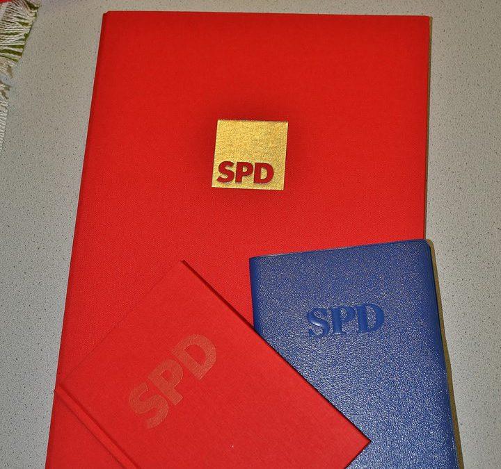 SPD dankt ihren Jubilaren