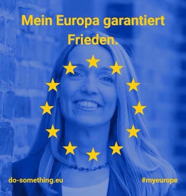 Heute ist Europatag.  Dieses Jahr können wir ihn nicht persönlich feiern, lasst uns trotzdem ein Zeichen der verbundenen Solidarität – virtuell – zeigen!  #soldarischinGladbeck #Europatag #dasistspd #gemeinsamzusammen