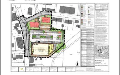 Der Stadtplanungs- und Bauausschuss der Stadt Gladbeck stimmte heute dem Entwurf des Vorhabenbezogenen Bebauungsplanes Gebiet: Feldhauser- / Brunnenstraße (ehemalige Willy-Brandt-Schule) zu