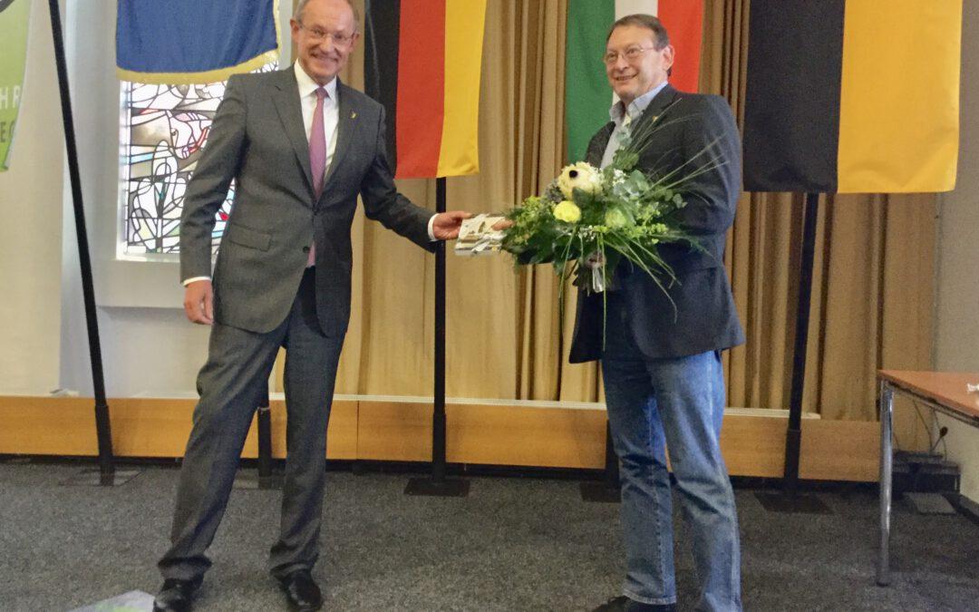 Danke  Uli Roland und Klaus Omlor:  Verabschiedung in der heutigen letzten Sitzung des Gladbecker Rates