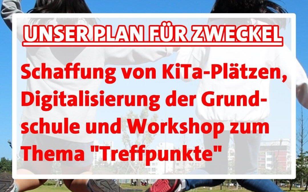 """Unser Zukunftsprogramm: Zweckel im Blick Heute zum Thema """"Jugend"""""""