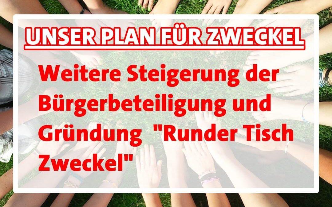 """Unser Zukunftsprogramm: Zweckel im Blick, heute Thema """"Bürgerbeteiligung"""""""