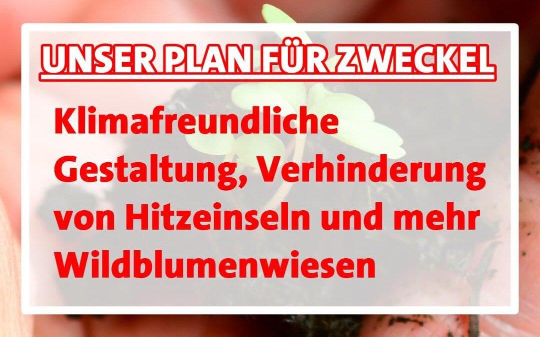 """Unser Zukunftsprogramm: Zweckel im Blick Heute zum Thema """"Senioren"""""""