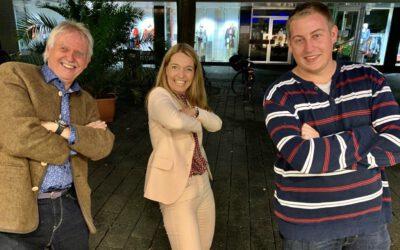 Wir haben eine Bürgermeisterin: Bettina Weist