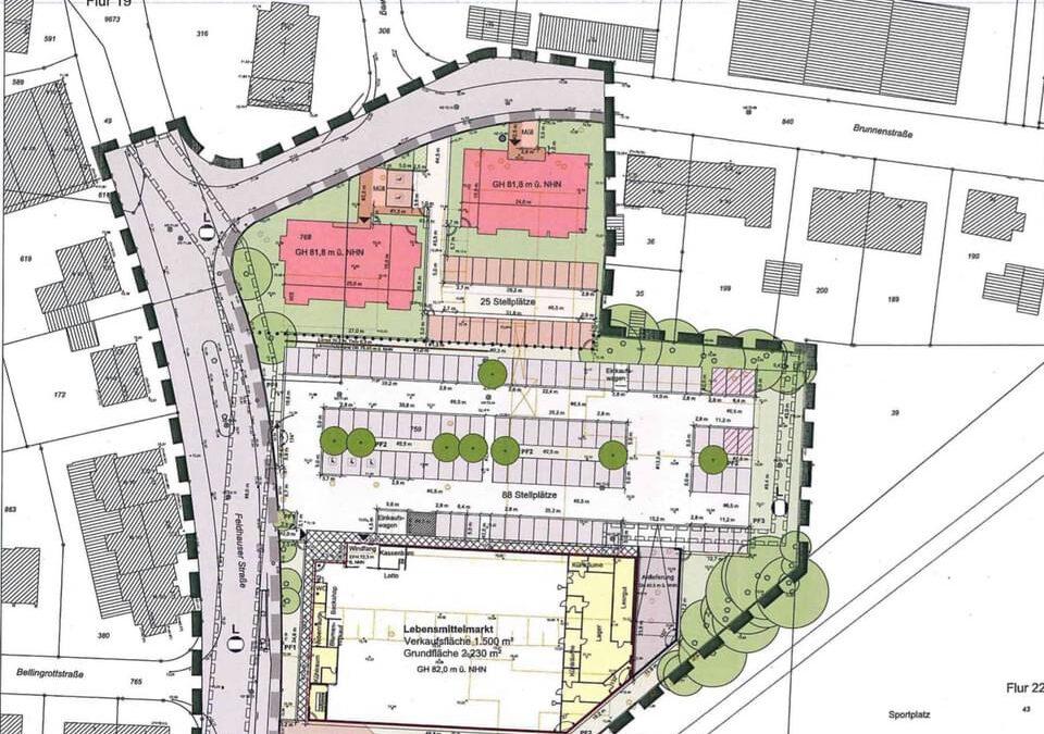 Neubebauung des Grundstückes ehemalige Willy-Brandt-Schule geht in die nächste Phase