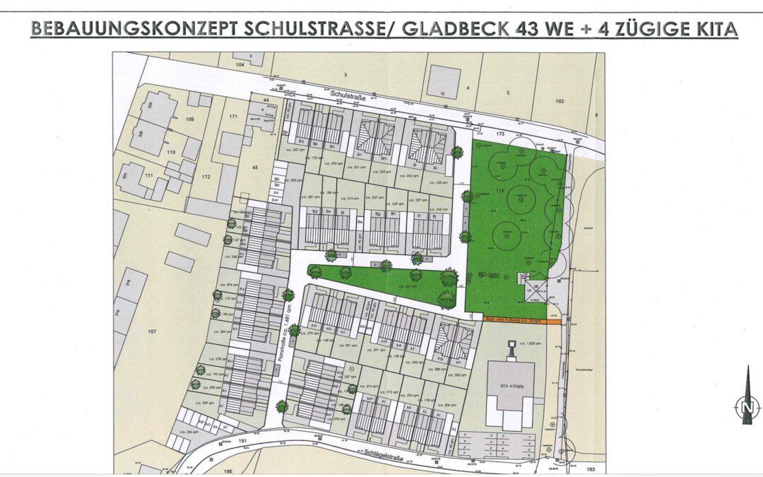 Bebauungsplan Schulstraße / Schlägelstraße mit neuem Kindergarten
